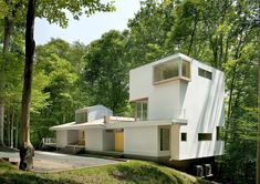 Image 1 of 23 from gallery of Forest House / Kube Architecture. Photograph by Paul Burk