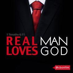Real man loves GOD