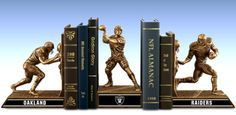 Limited Edition New England Patriots Legacy Cold-Cast Bronze Bookends Collection New England Patriots Merchandise, Nfl New England Patriots, Watch Football, Nfl Football, Nfl Houston Texans, Nfl Oakland Raiders, Washington Redskins, Musical Instruments, Bookends