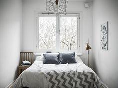 Hermoso #dormitorio. #bedroom #scandinavian