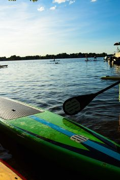 Stand Up Paddle Boarding available at Skiers Peak.