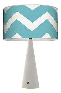 New Chevron lamps from our exclusive lighting collection!