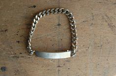 vintage ID bracelet 1960s - 1970s.
