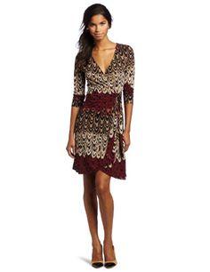 BCBGMAXAZRIA Women's Adele Sleeveless Wrap Dress « Dress Adds Everyday