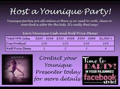 Looking for a few motivated ladies who love to play and earn free makeup!  Ask me how you can host a party and earn free makeup. https://www.youniqueproducts.com/KandinaEvans