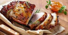 Dinner Recipe: Apricot and Orange Glazed Pork Roast. I love a good pork roast! Cooking Temp For Beef, Christmas Ham Recipes, Holiday Ham, Pork Recipes, Cooking Recipes, Cooking Games, Recipies, Pork Dishes, Pork Roast
