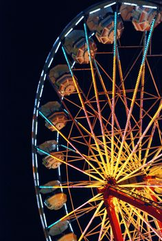 ride on a freaking Ferris Wheel. I've always been too afraid!