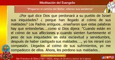 """MISIONEROS DE LA PALABRA DIVINA: MEDITACIÓN DEL EVANGELIO - """"Preparen el camino del..."""