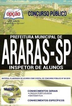 Apostila Prefeitura De Araras 2019 Inspetor De Alunos Pdf E