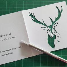 Fox Fold Designs (@fox_fold_designs) • Instagram photos and videos Paper Cutting, Tartan, Moose Art, Photo And Video, Videos, Photos, Crafts, Instagram, Design