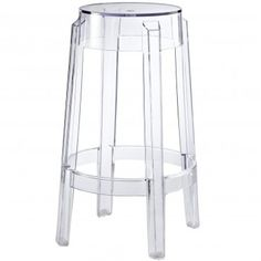 Clear Modern Cash Parr Counter Stool - Bars & Bar Stools - Dining Room