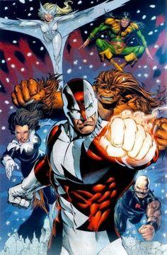 Alpha Flight - marvel-comics