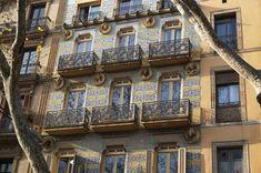 House on La Rambla Amazing Destinations, Travel Destinations, Antoni Gaudi, Sunny Beach, World's Fair, Online Tickets, Beautiful Buildings, Night Life, Playground