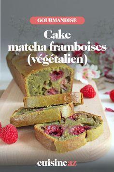 Les framboise fraîches ne sont pas indispensable pour préparer ce cake au thé matcha et framboises. #recette#cuisine #patisserie #cake #thematcha #framboise #fruit