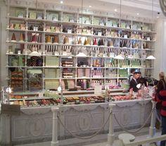 LaDuree Patisserie at Harrods, London - favourite restaurant Coffee Around The World, Around The Worlds, Tea Time Snacks, Paris Travel, Study Abroad, Harrods, Creative Inspiration, Mish Mash, Candy Store
