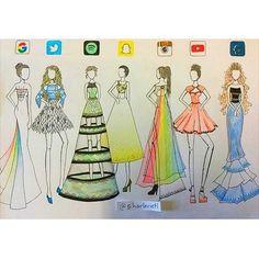Social media Apps art