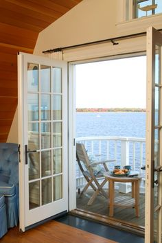 House on the lake with this bedroom view...yes!