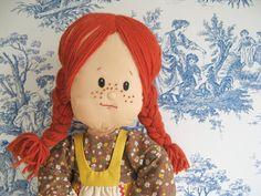 Anne of Green Gables rag doll :)