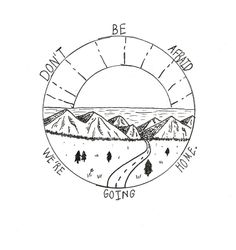"""tattoosbyem: """" Anon requested: """"a design similar to try one you did of the sun will rise and we will try again, but instead use """"don't be afraid we're going home?"""" Twenty One Pilots inspired tattoo ©...."""