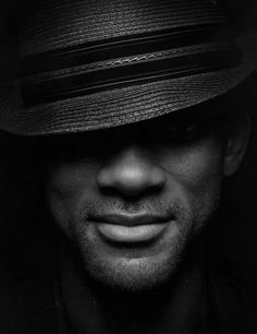 Will Smith     LOVE the lighting, the cropping, the lack of color, ah! i love this photo