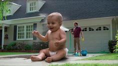 nationwide insurance - bebê gigante
