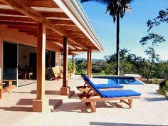 Montezuma House Rental: Tranquil Ocean View, Constant Breezes, Eco-friendly!   HomeAway Luxury Rentals. Punt arenas Costa Rica.