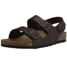 455e4e43a831 Birkenstock Womens Milano Dark Brown synthetic Sandals 37 EU M4L6 US R  034701   Check out