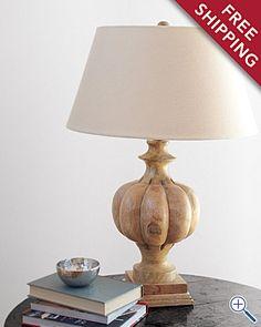 i like this lamp, Garnet Hill