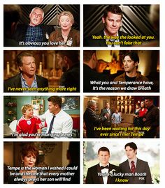 Everyone can see the perfectness of Booth and Brennan's relationship