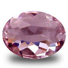 Morganite 110802: 0.58 Ct Elegant Oval Cut (7 X 6 Mm) Pink Color Morganite Gemstone -> BUY IT NOW ONLY: $34.99 on eBay!