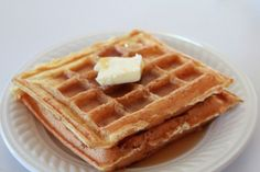 Gluten-Free, Sugar-Free, Low-Carb coconut meal waffles