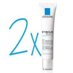 La Roche Posay DUPLO Effaclar Duo+, 2x40ml #larocheposay #beauty #piel #skin #belleza #corrección #imperfecciones #crema #rostro