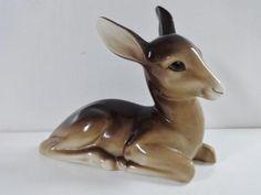 Large-Deer-by-Midwinter-Burslem-England-Vintage-Deer-Fawn-Bambi-Ornament