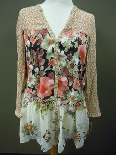 Ivy Jane Floral Blouse. ON SALE!!! For $158. SO SO Cute!!!