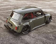 Image may contain: car and outdoor - Auto Design Ideen - Cars Mini Cooper S, Mini Cooper Classic, Classic Mini, Classic Cars, Suv Bmw, Bmw E9, Auto Design, Retro Cars, Vintage Cars