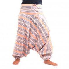 Pantalon bouffant avec cordon de serrage