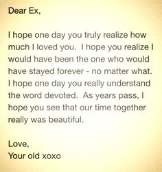 Ex Quotes Dear Ex Quotes  True Quotes.pinterest  True Quotes Breakup .