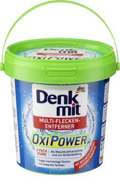 Der Denkmit Oxi Power Multi-Flecken-Entferner entfernt durch die Kraft des hochwirksamen Aktiv-Sauerstoffs selbst hartnäckige Flecken wie z.B. von Obst,...