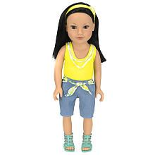 "Journey Girls 18 inch Soft-Bodied Doll - Callie (Yellow Shirt) - Toys R Us - Toys ""R"" Us  $32.99"