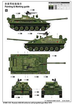 ASU-85  ^ Dywizja Powietrzno Desantowa