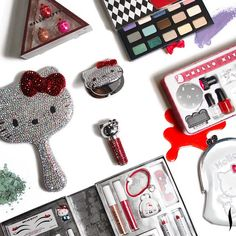 The full #HelloKitty 40th Anniversary Collection will be available at Sephora on 9/19. #meow
