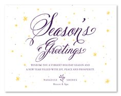 plantable corporate holiday cards on seeded paper starry night by green business print follow - Holiday Card Wording