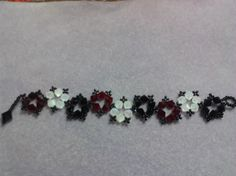 55-010 'Star' style bracelet handmade with 6mm Swarovski crystals.