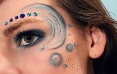 The four elements Water makeup by Jaqalynn.deviantart.com on @deviantART