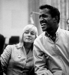 Sammy Davis Jr in a Baracuta G9 Harrington and May Britt