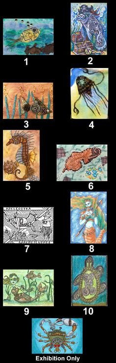 ATCsforAll.com: Artist Trading Cards - ATCs for trading, collecting and swapping