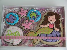 Mermaid Cookies by East Coast Cookies, via Flickr