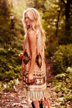 Southwestern vest from Haute Hippie