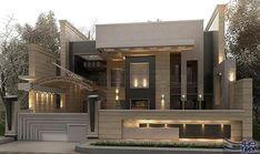 تصاميم جديدة ورائعة لواجهات المنازل الحديثة في العراق لعام 2017 تم الكشف عن تصميم لواجهات المنا House Gate Design House Outside Design House Front Wall Design