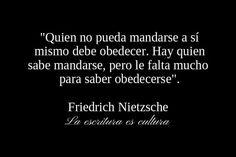 Freedrich Nietzsche.